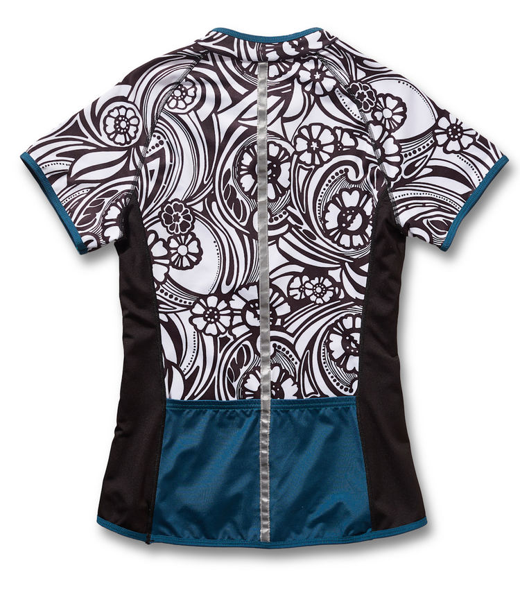 Lady Luck Short Sleeve Cycling Jersey by Sassy Cyclist – Dirty Jane 86ff3e983