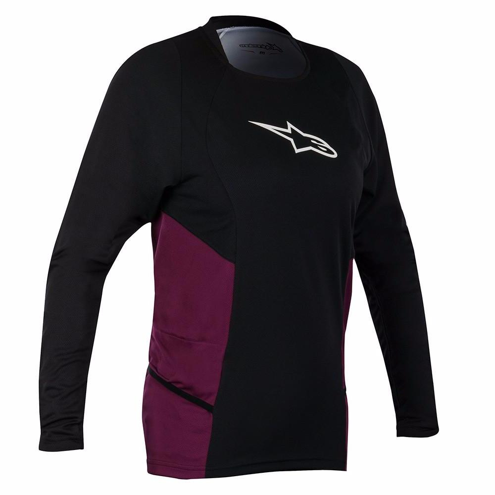 Stella 2 Drop LS Black by Alpinestars