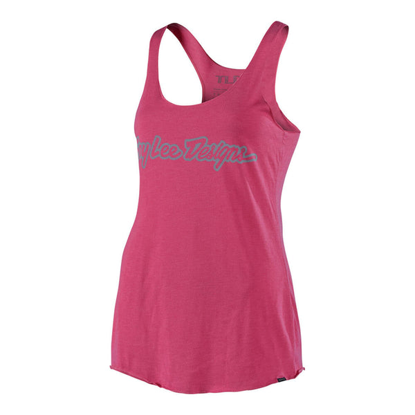 Women's Signature Tank - Pink by Troy Lee Designs