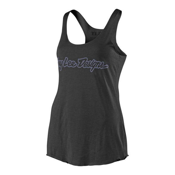 Women's Signature Tank - Vintage Black by Troy Lee Designs