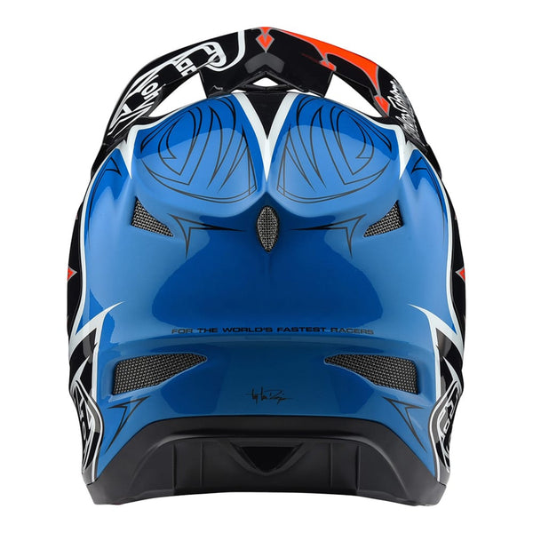 D3 Composite Helmet Corona Orange by Troy Lee Designs
