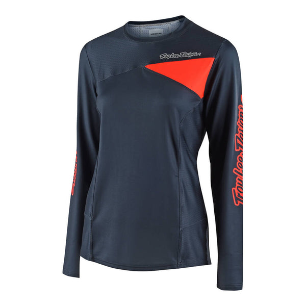 2018 Skyline LS Jersey - Slate by Troy Lee Designs