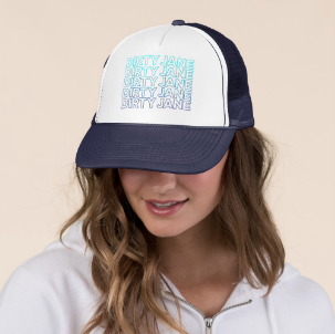 Blue Haze - Trucker Hat by Dirty Jane