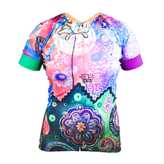 Blossoming Short Sleeve Jersey by SOLIDarity Cycling