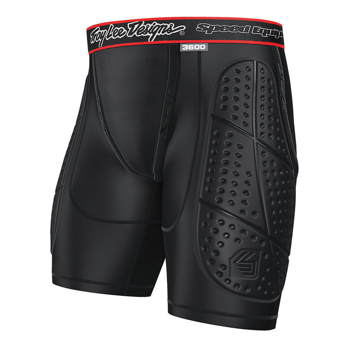 Protective Youth Shorts- Black by Troy Lee Designs