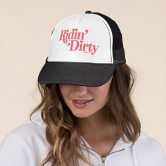 Ridin' Dirty - Black Trucker Hat by Dirty Jane