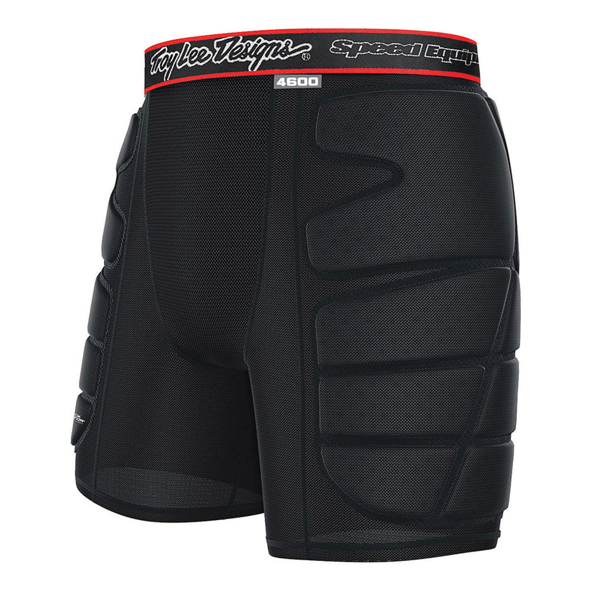 Protective Vented Youth Shorts- Black by Troy Lee Designs