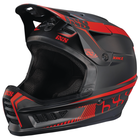 XACT Full Face Helmet - Black/Red by IXS