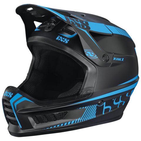 XACT Full Face Helmet - Black/Blue by IXS