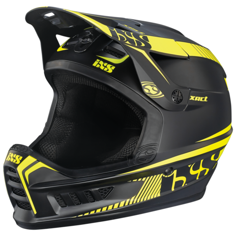 XACT Full Face Helmet - Black/Lime by IXS
