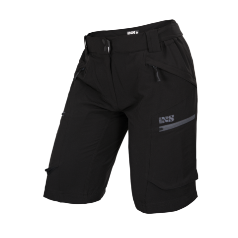 2017 Tema 6.1 Ladies Shorts - Black by IXS