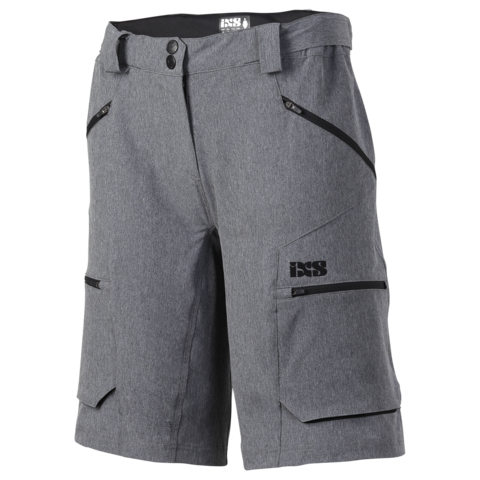 2017 Tema 6.1 Ladies Shorts - Graphite by IXS