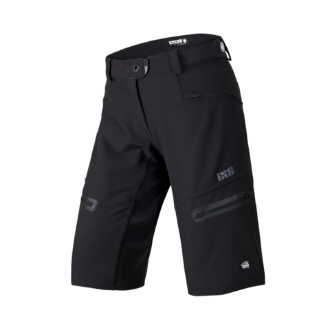 2017 Server 6.1 Women Shorts - Black by IXS