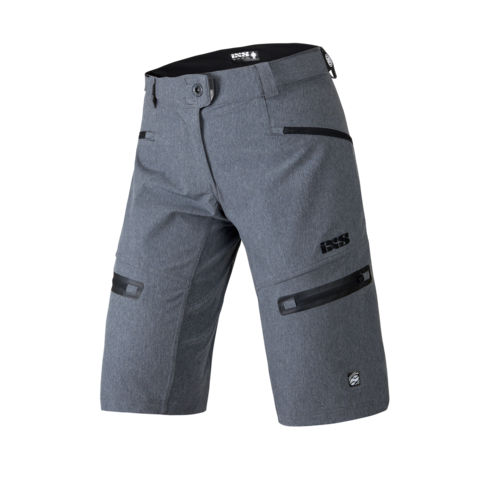 2017 Server 6.1 Women Shorts - Graphite by IXS