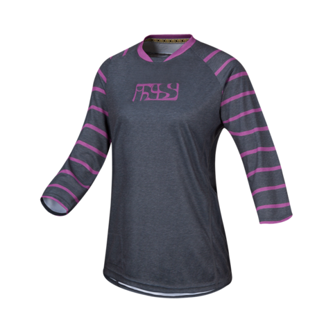 2017 Vibe 6.2 Ladies Jersey - Purple by IXS