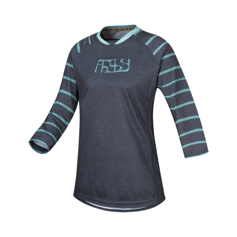 2017 Vibe 6.2 Ladies Jersey - Turquoise by IXS