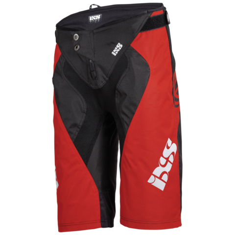 Race 7.1 DH Shorts - Black/Red by IXS