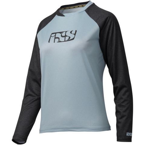 Ladies Progressive 7.1 Jersey - Blue/Black by IXS