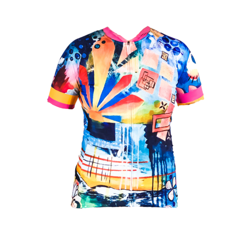 Rising Short Sleeve Jersey by SOLIDarity Cycling