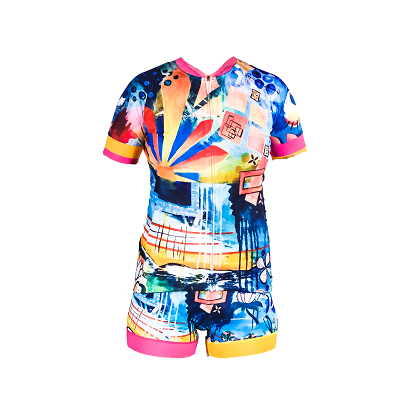 Rising Short Sleeve Kit by SOLIDarity Cycling