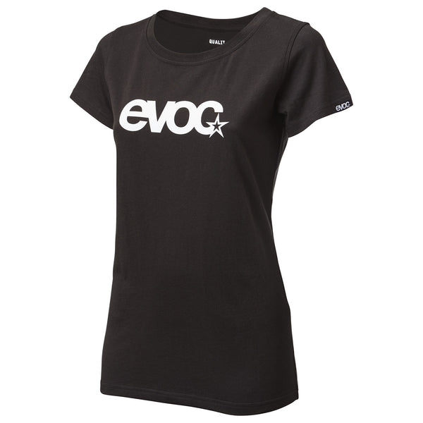 T-Shirt Logo Women- Black by EVOC