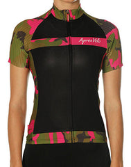 Crank'n Camo Riding Jersey (Made in Italy) by Apres Velo