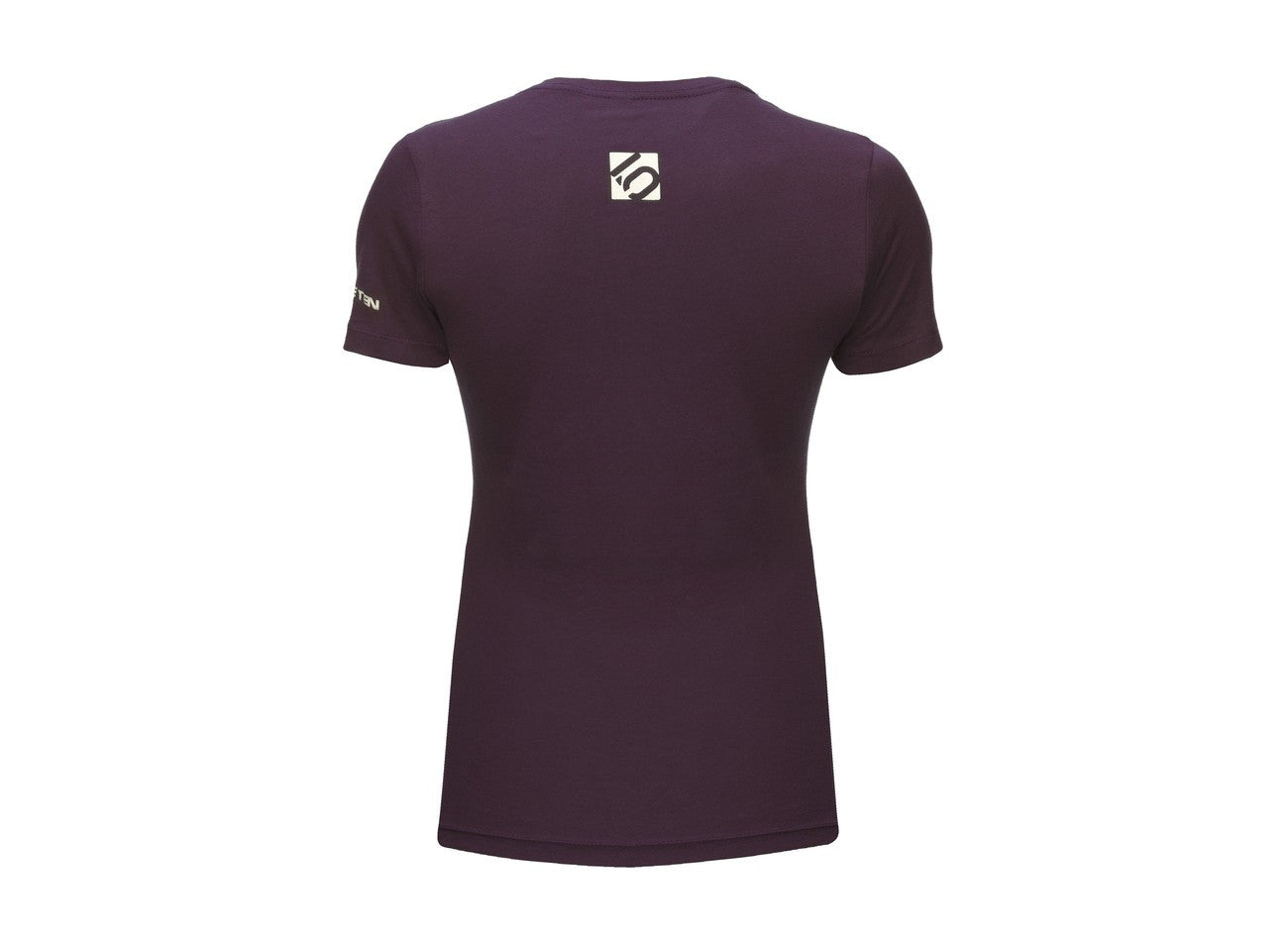 Logo T-Shirt - Plum by Fiveten