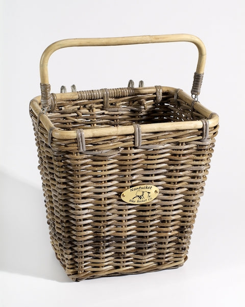 Truckernuck Pannier Basket w/ Hooks by Nantucket Baskets