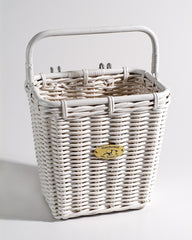 Cruiser Pannier Basket w/ Hooks by Nantucket Baskets