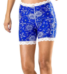 Blue Bandana Pettipants by Bikie Girl Bloomers