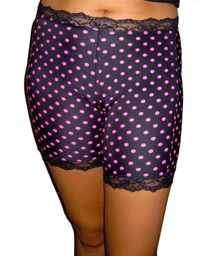 Pinka Dot Black Pettipants by Bikie Girl Bloomers