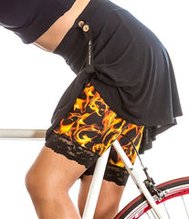 Smokin' Hot Flames Bloomers - Plus Size by Bikie Girl Bloomers