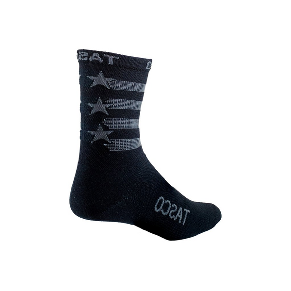 Double Digits Socks - Black Flag by Tasco MTB