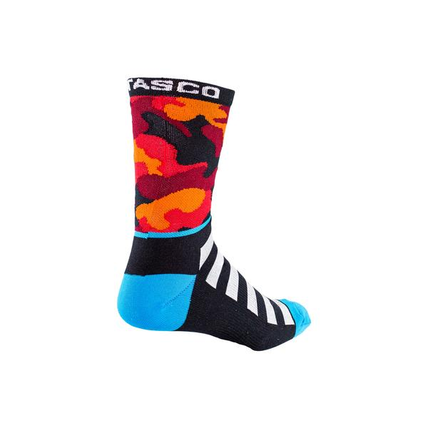 Double Digits Socks - Red Camo by Tasco MTB