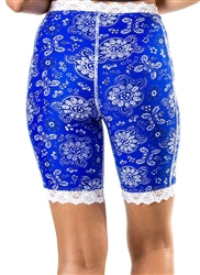 Blue Bandana Bloomers by Bikie Girl Bloomers