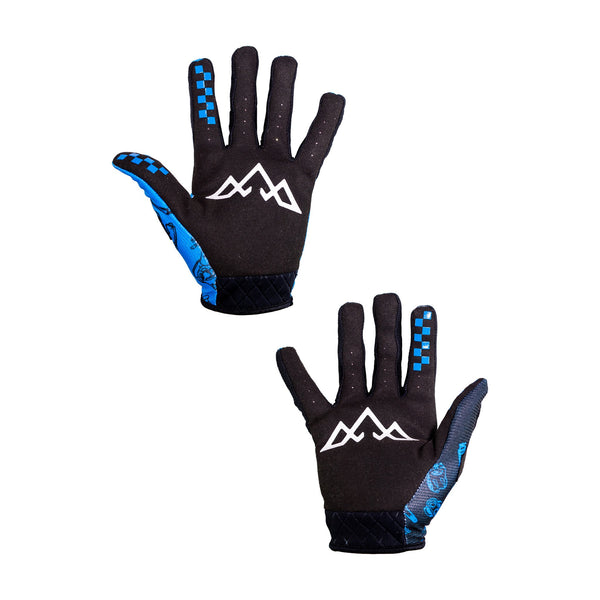Double Digits Glove & Sock Kit - Blue Bike Bits by Tasco MTB
