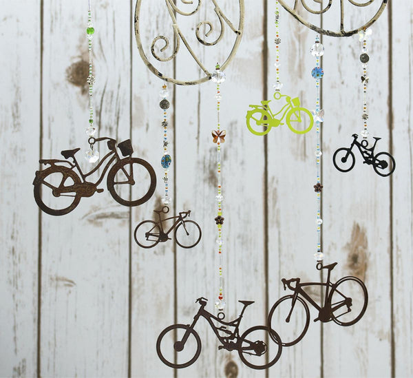 Butterfly and Dragonfly Sun Catcher Series - Mountain Bike by bici bits