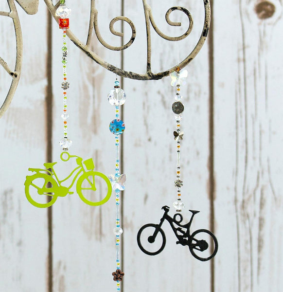 Butterfly and Dragonfly Sun Catcher Series - Road Bike by bici bits