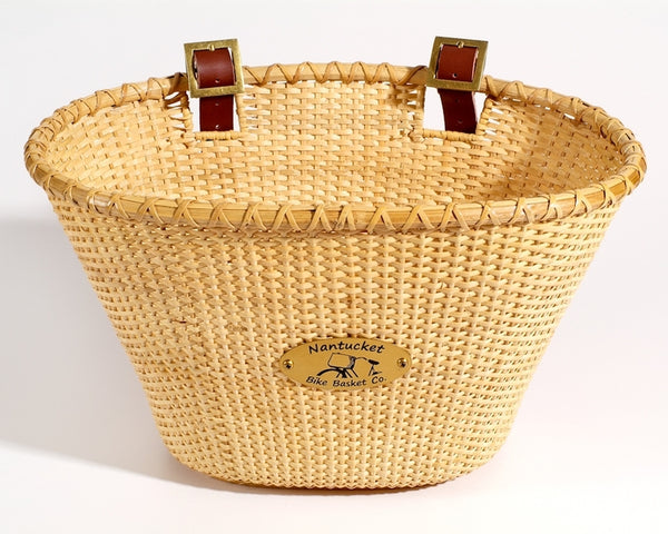 Lightship Adult Oval Basket - Natural by Nantucket Baskets