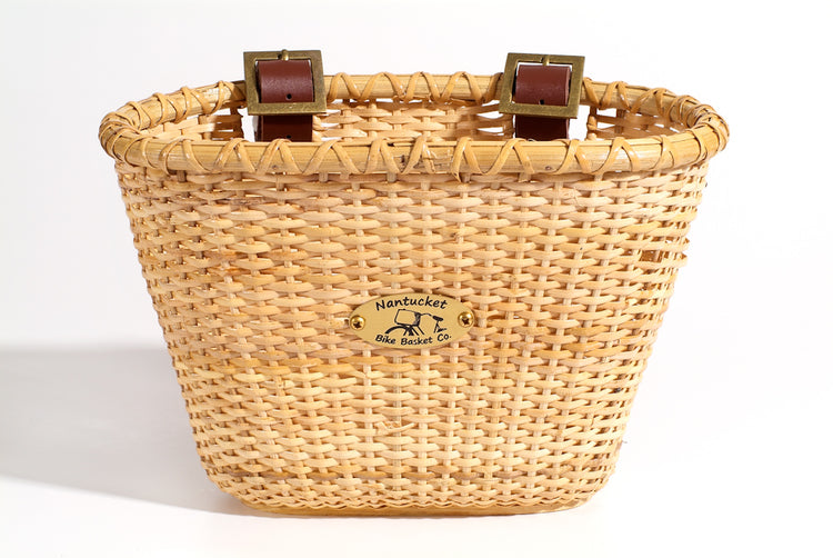 Lightship Child Oval Basket - Natural by Nantucket Baskets