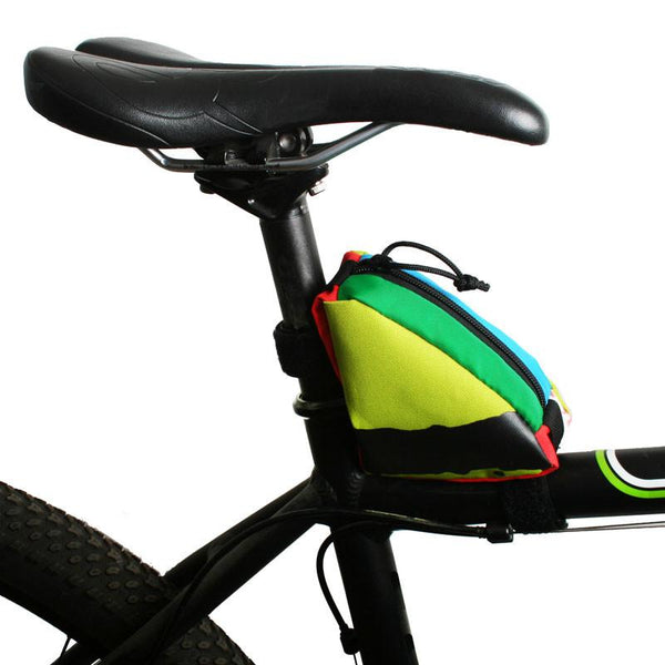 Clincher Frame Bag - Mini - Multi Color by Green Guru