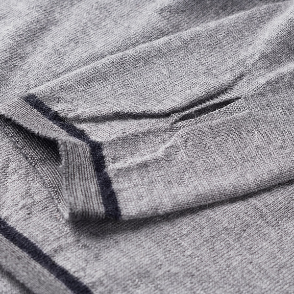 Caddon Merino Jersey - Grey Marl by FINDRA