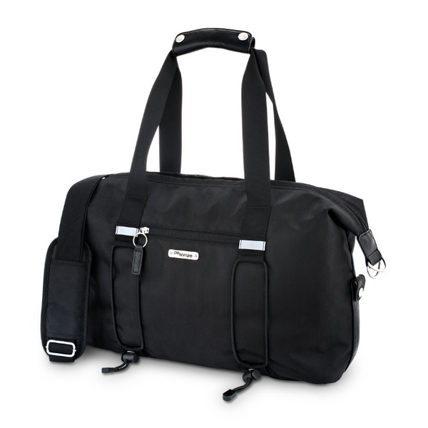 Bike Share Bag 2.0 - Black Herringbone by Po Campo