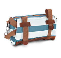 Kinga Handlebar Bag- Sky Stripes by Po Campo