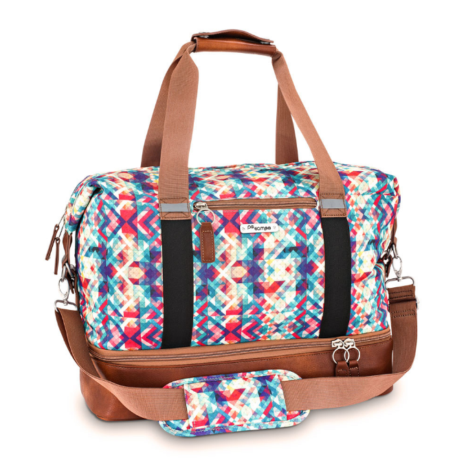 Midway Weekender Gym Bag- Mosaic by Po Campo
