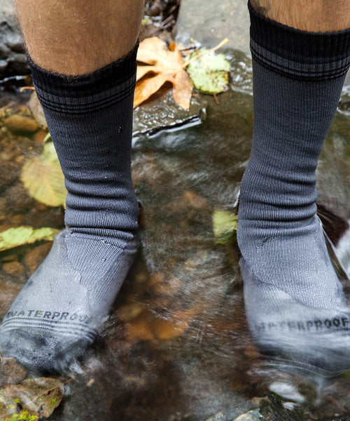 Crosspoint Waterproof Wool Crew Socks by Showers Pass