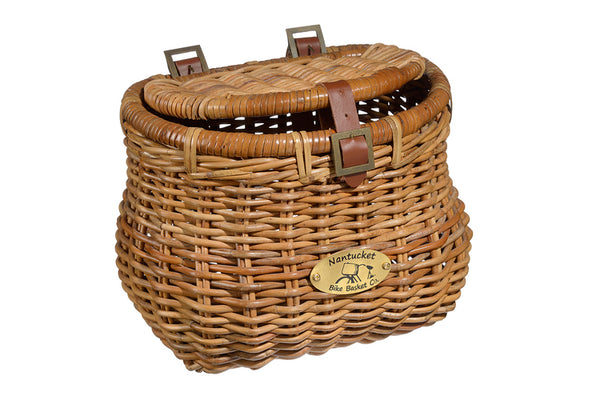 Cisco Madaket Creel Basket w/ Lid by Nantucket Baskets