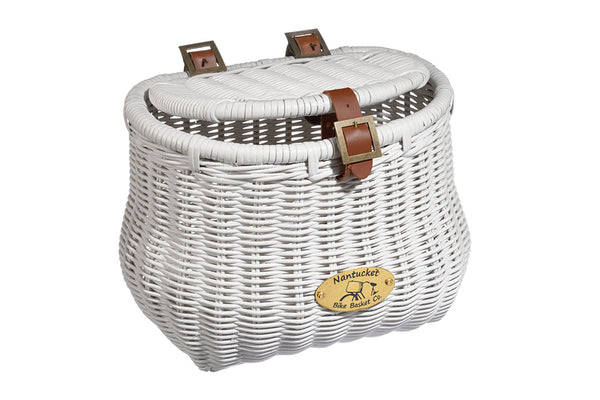 Cruiser Madaket Creel Basket w/ Lid by Nantucket Baskets