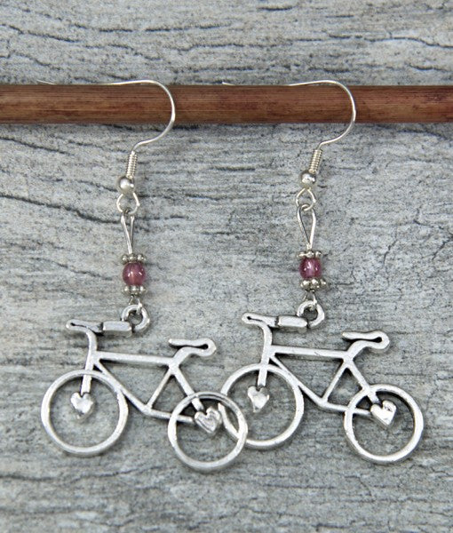 Bike Love Rose Quartz by bici bits