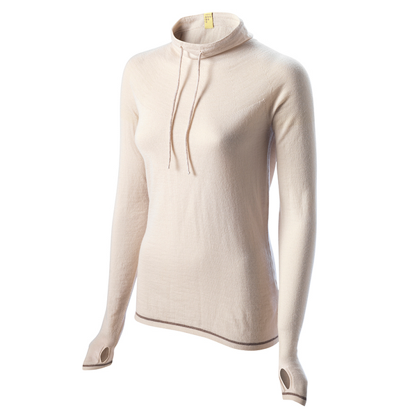 Caddon Merino Jersey - Oatmeal by FINDRA